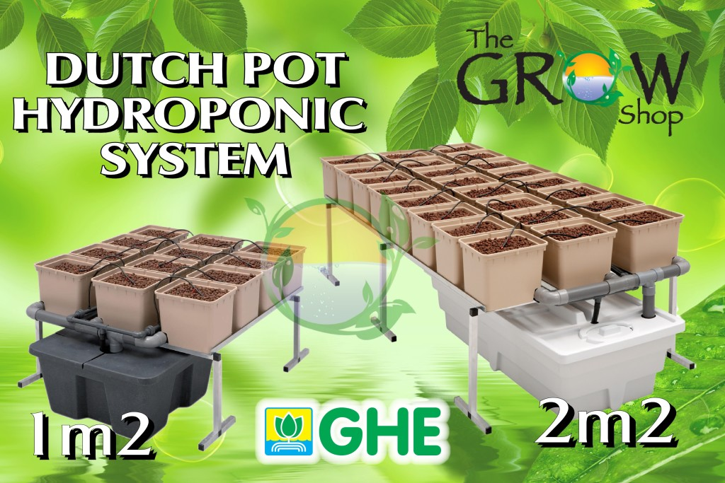 Dutch Pot Hydroponic System